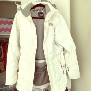 Northface Belted/Hooded